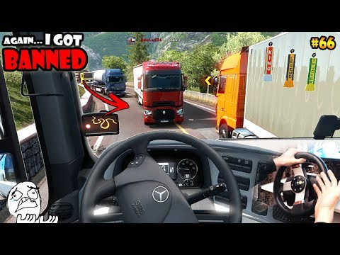 ★ IDIOTS on the road #66 - ETS2MP | Funny moments - Euro Truck Simulator 2 Multiplayer