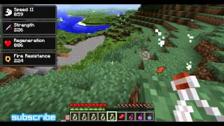 Minecraft 1.3.2 Status Effect HUD Mod Spotlight