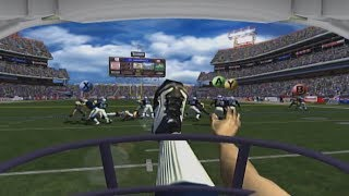 It's a football game, but basically VR