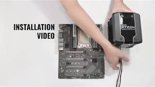 Cooler Master - Wraith Ripper Installation and Software Tutorial