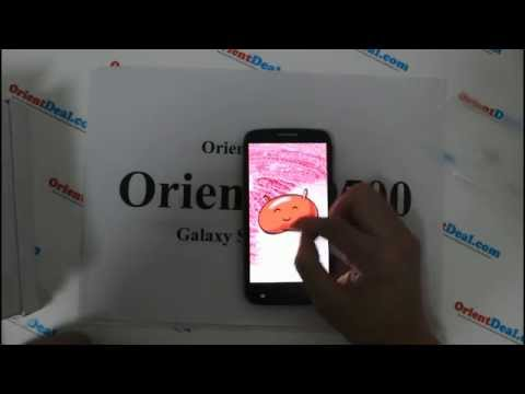 Bets Samsung Galaxy S4 Clone - Orient N9500 Unboxing First Hands On Reviews