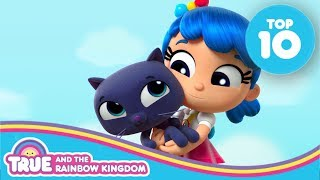 Top 10 Heartwarming True and Bartleby Moments | True and the Rainbow Kingdom