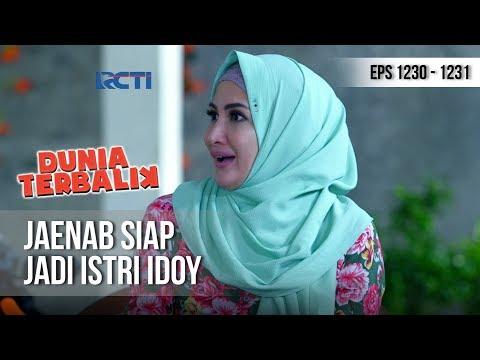 DUNIA TERBALIK - Jaenab Keceplosan Ngomong Amin Jadi Istrinya Idoy (full) [8 Desember 2018]