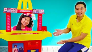 Emma Pretend Play McDonald's Happy Meal Chocolate French Fries