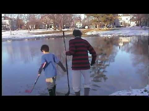 how to make a rilly simple ice rink in your own back yard youtube