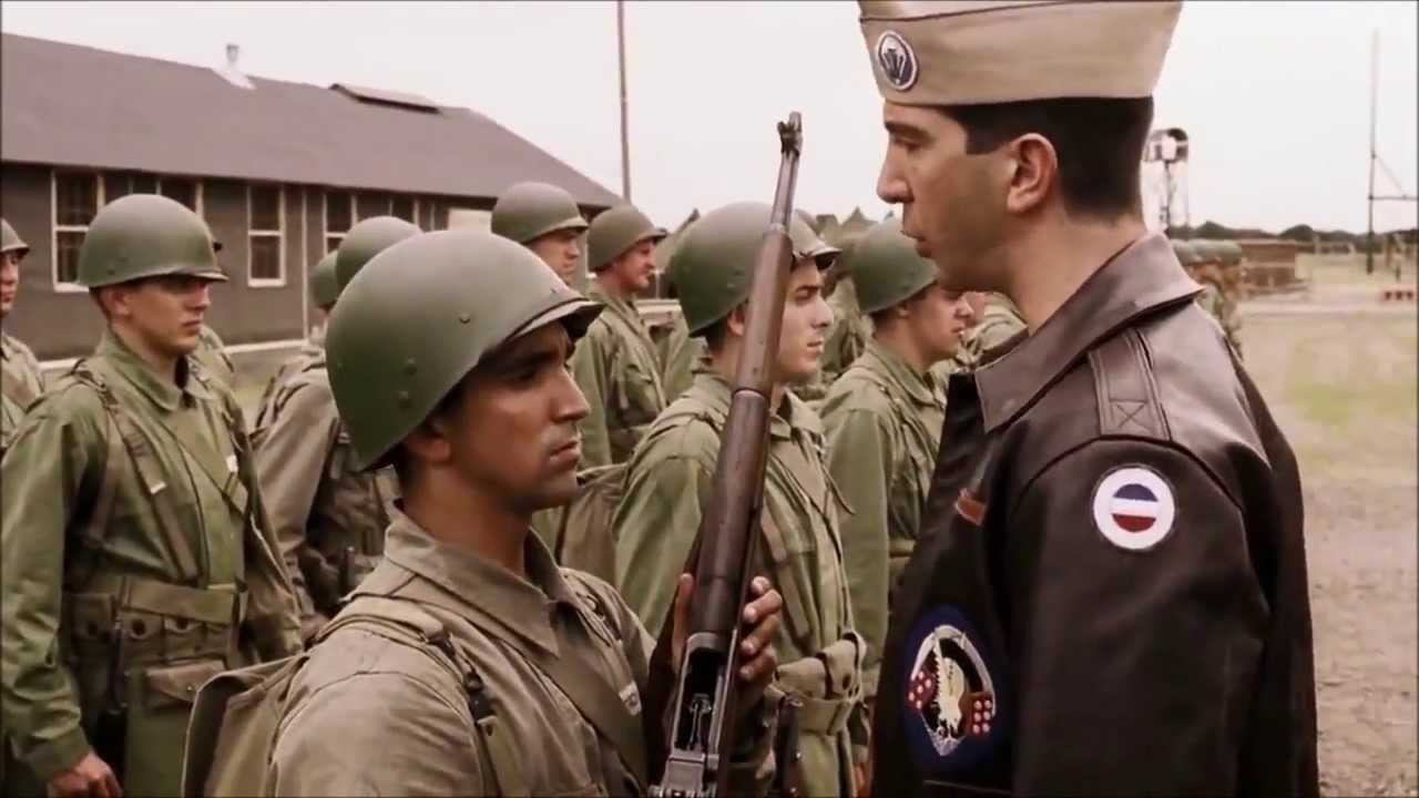 Band Of Brothers Easy Company Got Trouble With Captain