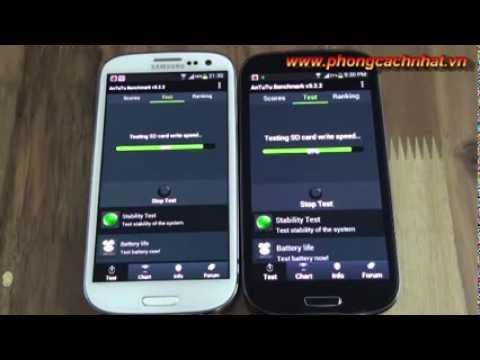 Galaxy S3 Alpha Sc03E (Sc-03E) VS Galaxy s3 i9300