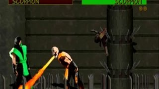 Mortal Kombat arcade Reptile secret boss fight