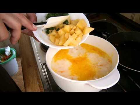 Как приготовить суп из сырков - видео