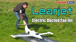 LEARJET electric ducted fan RADIO CONTROLLED JET