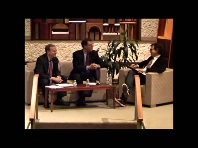 Gordis Ben Ami Debate, Atlanta, Feb 2014 2 Rebuttals