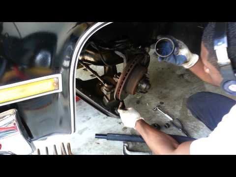 How to Replace ball joints in 1987 Chevrolet R-10 C-10 Silverado truck