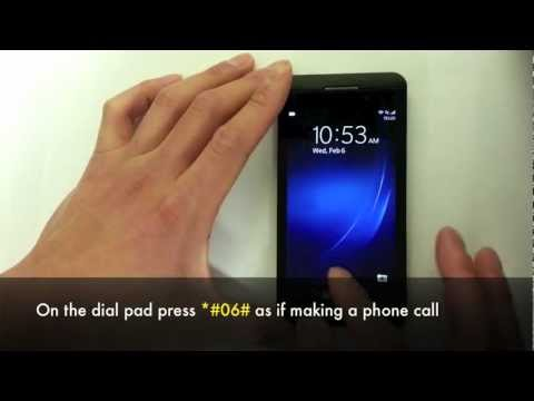 Unlock Blackberry Z10 - How to Unlock Z10 Blackberry OS 10 by MEP Unlock Code
