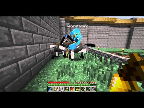 Minecraft Horse Sex And Maninatincan Cliff Dives video
