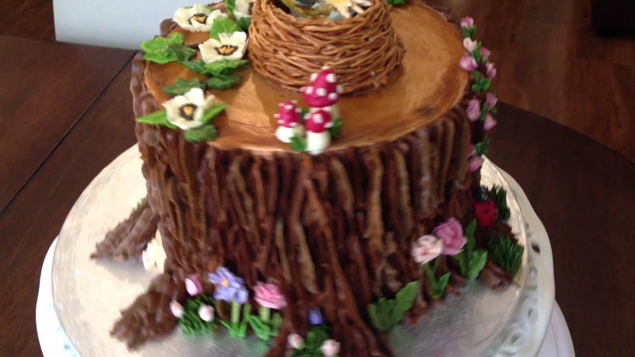 Enchanted Forest Themed Wedding Cake Enchanted Forest Cake