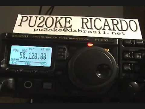 PU2OKE X EA8UP IN 50 MHZ SSB MODE