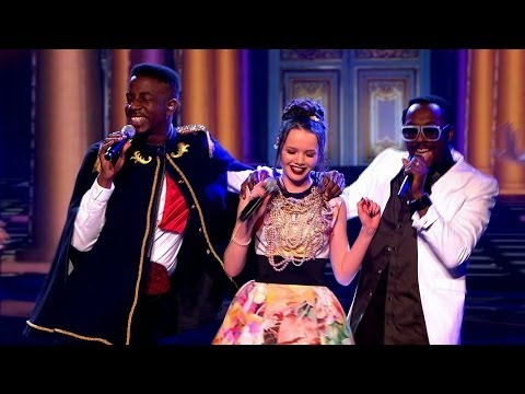 will.i.am and his Team perform 'Let's Dance' – The Voice UK 2014: The Live Semi Finals – BBC One