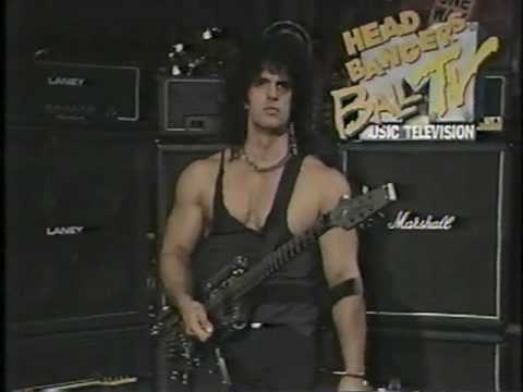 KANE ROBERTS/ALICE COOPER GUEST VJ, HEADBANGER'S BALL, ROCK DOLL VIDEO