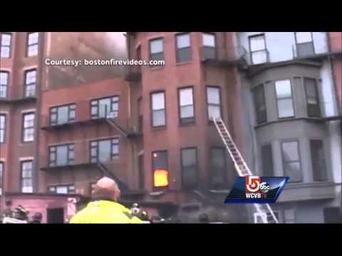 Malden company denies blame in Back Bay fire