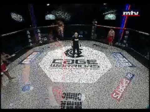 AMIN NACHEB (TUN) Vs Atef mohammed (EGY) - Cage Warriors - Amateur Heavy ...