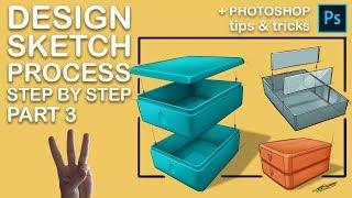 Industrial Design Sketch Process Part 03/03
