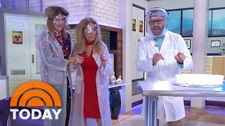 See Kathie Lee And Jenna Do Some Wacky Science Experiments | TODAY