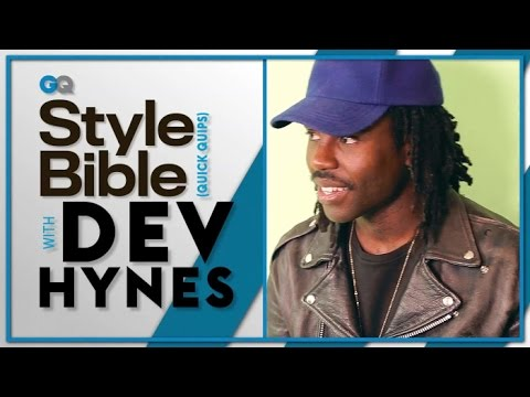 Dev Hynes' Most Regrettable Fashion Choice -- GQ Style Bible -- Celebrity Interview