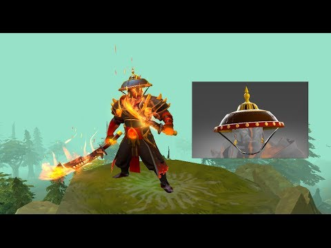 Dota 2 - Governor's Salakot - Ember Spirit New Hat video