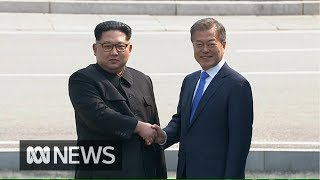 Kim Jong-un crosses border into South Korea for historic peace talks