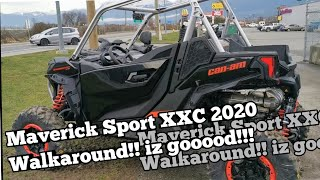 Can-Am Maverick Sport XXC 2020 walkaround