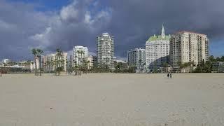 Alamitos Beach In The Morning, Long Beach, California