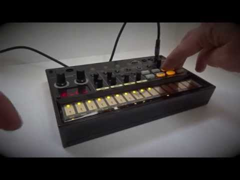Korg Volca Beats Minimal Groove - Stutter effect, Mute, Solo demo