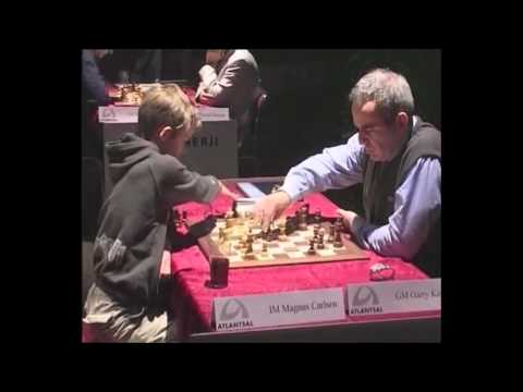 Thumbnail of video Kasparov vs 13 year old. Who is this kid?