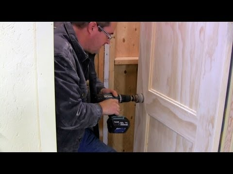 Learn How To Install A Door In Less Then 15 Mins How To
