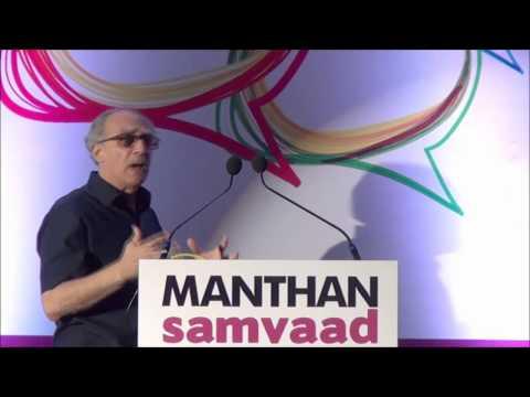 Arun Shourie at Manthan Samvaad 2013