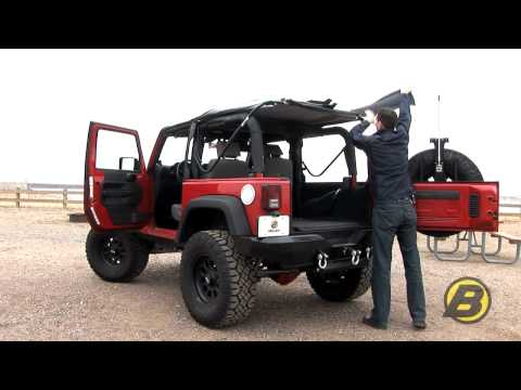 Bestop: How to get the most from your soft top Jeep Wrangler (2 door)
