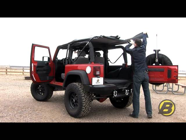 Bestop: How to get the most from your soft top Jeep ...