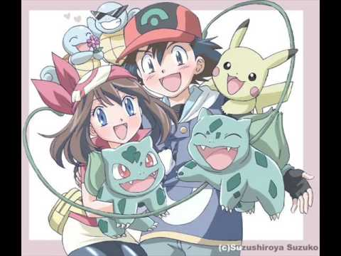 Ash, Misty, May and Dawn (Book Of Love)