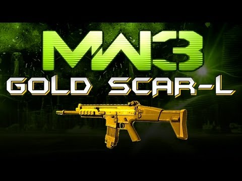 MW3 Online - GOLD SCAR-L (Perk and Attachment Advice)