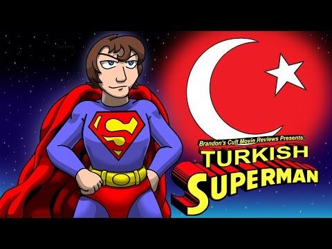 Brandon's Cult Movie Reviews: Turkish Superman