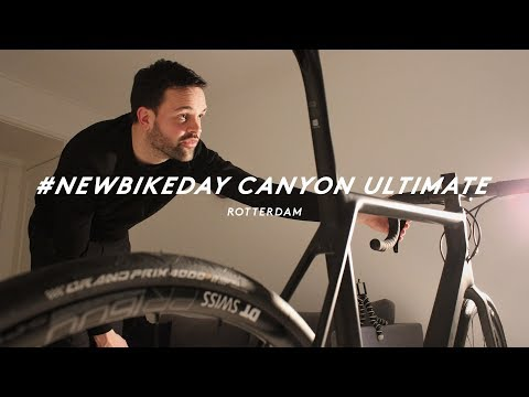 CANYON ULTIMATE 8.0 DISC UNBOXING & FIRST RIDE