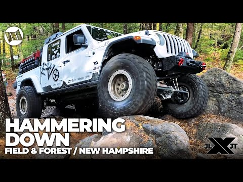 Jeep Gladiator Truck Overland Off-Road Field and Forest New Hampshire Nitto JL JT Experience Part 5
