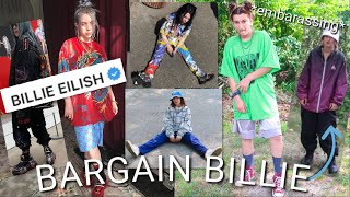 THRIFTING BILLIE EILISH'S ICONIC OUTFITS