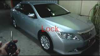 Po-40 : Remote Control Auto Side Mirror : All New Camry 2012