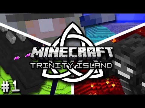 Minecraft: Trinity Island Hardcore Survival Ep. 1 - DANGER EVERYWHERE