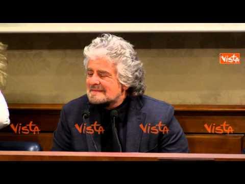 GRILLO CONTRO MASSIMO GIANNINI (BALLARO'): CHIEDA SCONTRINI A DE BENEDETTI SU MONTE PASCHI DI SIENA