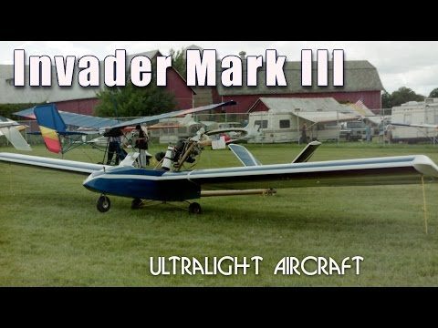 Invader Mark III ultralight aircraft. Predator 2 ultralight aircraft.