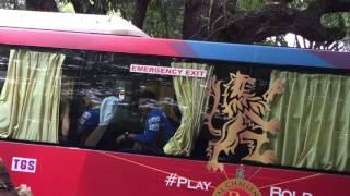RCB bus ipl 2015 chinnaswamy stadium bangalore