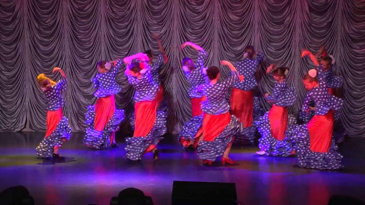 """Детский отчетный концерт студии """"Дива"""" в доме молодежи Атлант 01.06.2014 г. Фламенко (8-12 лет)."""
