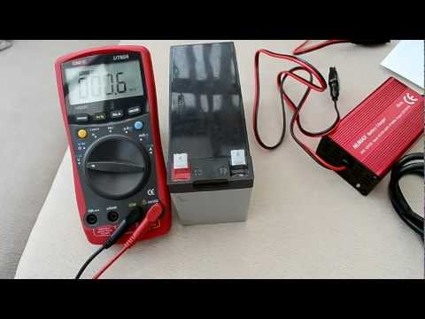 Sealed lead acid battery charging - requested